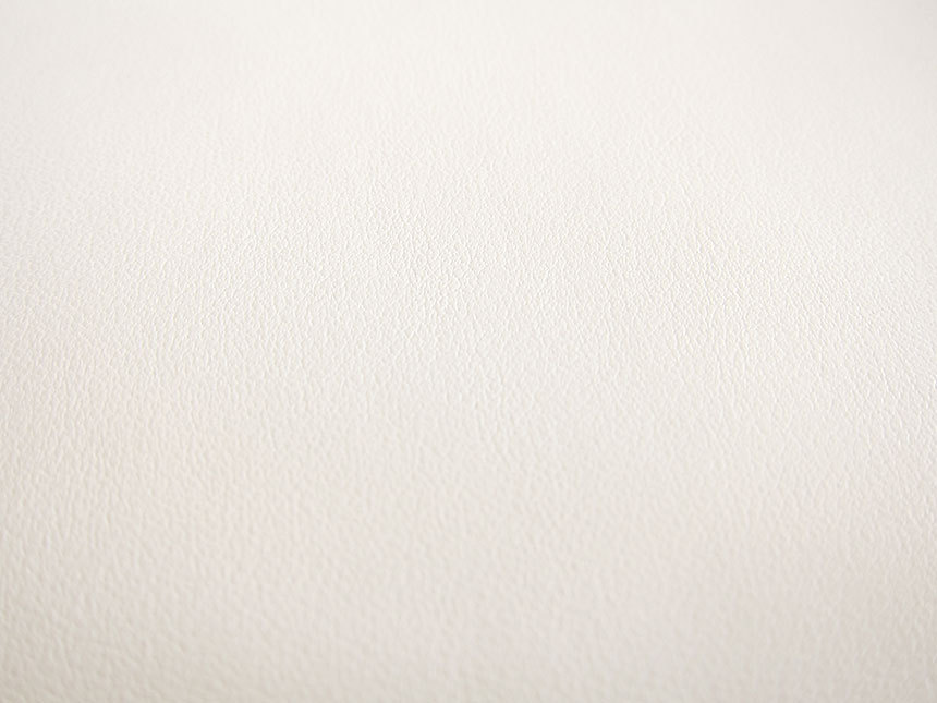 Faux Leather Fabric In Lambskin Pattern Milk White